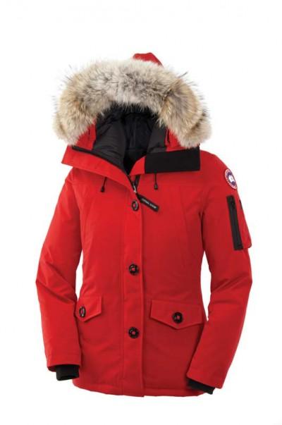 Canada Goose Dame Red Montebello Parka