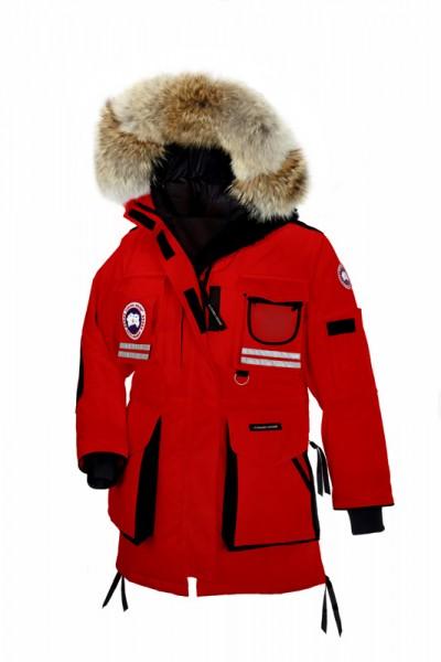 Canada Goose Snow Mantra Parka rød Dame