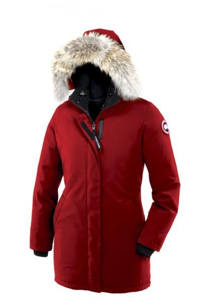 Canada Goose Dame rød Victoria Parka