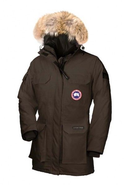 Canada Goose Dame Kaffe Expedition Parka