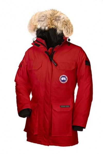 Canada Goose Dame Rød Expedition Parka