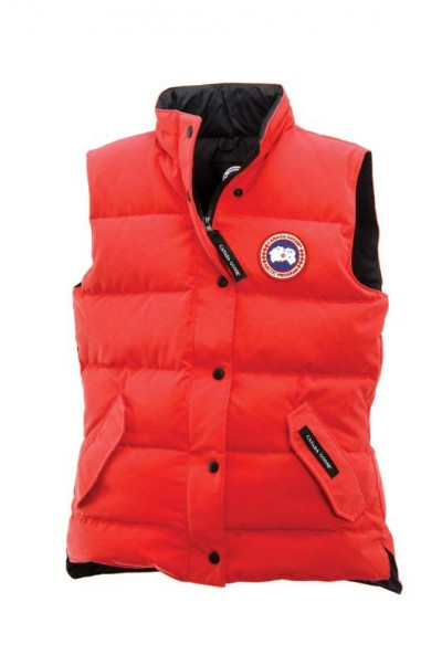 Canada Goose Freestyle Vest Red Dame
