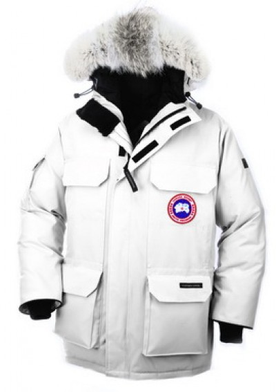 Canada Goose Menn Hvit Expedition Parka