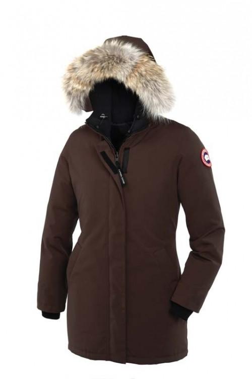 canada goose jakke mænd brun
