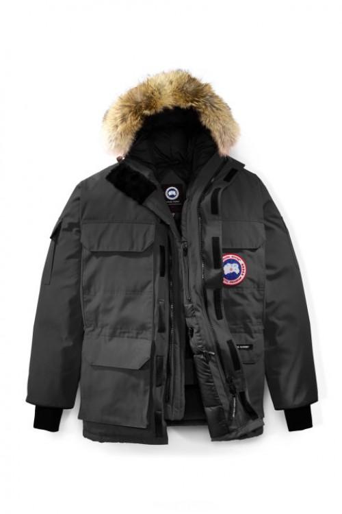 e36eada0 Canada Goose Herre Expedition Parka Fusion Fit - Menn stil # 4660MA -  Graphite