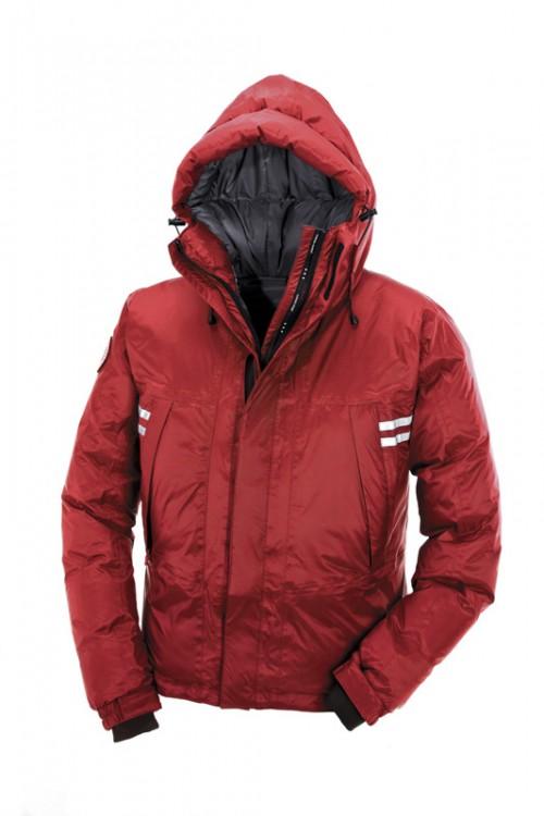 Canada Goose Mountaineer Jakke Red Menn